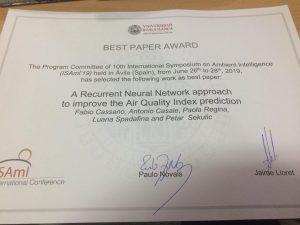 Best Paper Award Diploma
